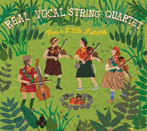 Real Vocal String Quartet – Four Little Sisters
