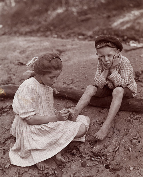 The Splinter. Circa 1910. OSU Collection. P40:251.