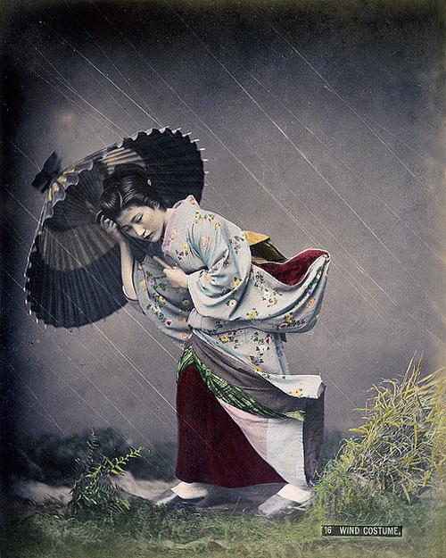 Wind Costume. Japan. Circa 1900.