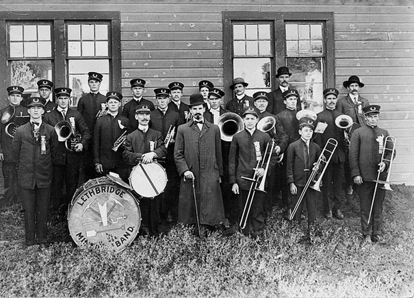 Lethbridge Miners' Band, Canada. 1915.