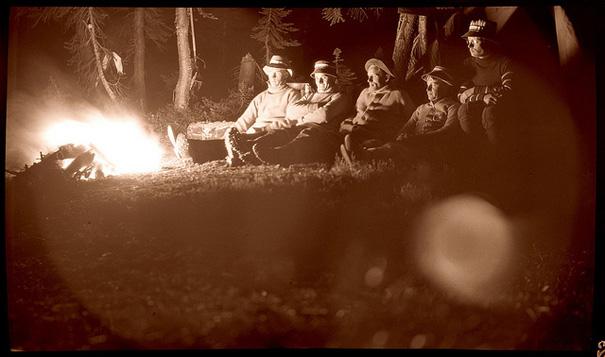 Untitled. Alpine Club. Nova Scotia, 1914. Photo by Arthur Bloomfield Dawson.
