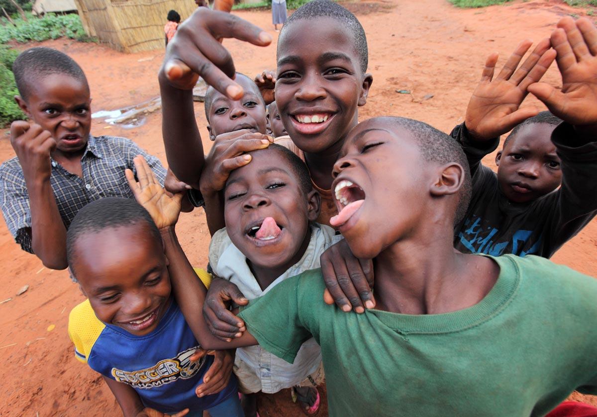 Zambia, boys