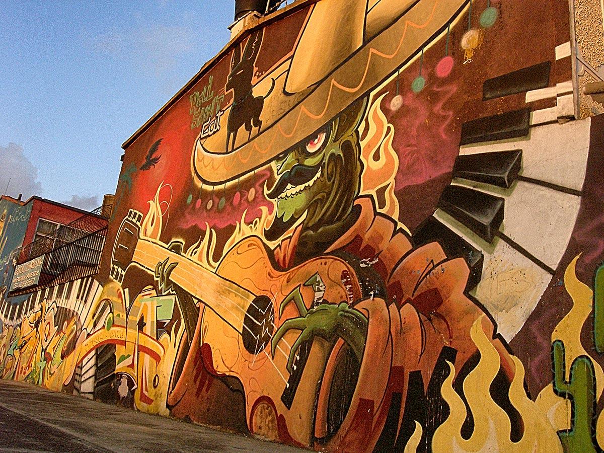 Hell Sant Grafitti