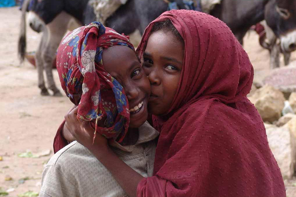 Best friends in Harar