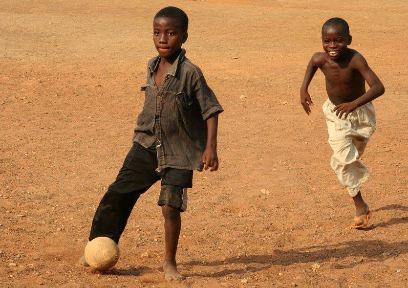 Footballers, Accra, Ghana