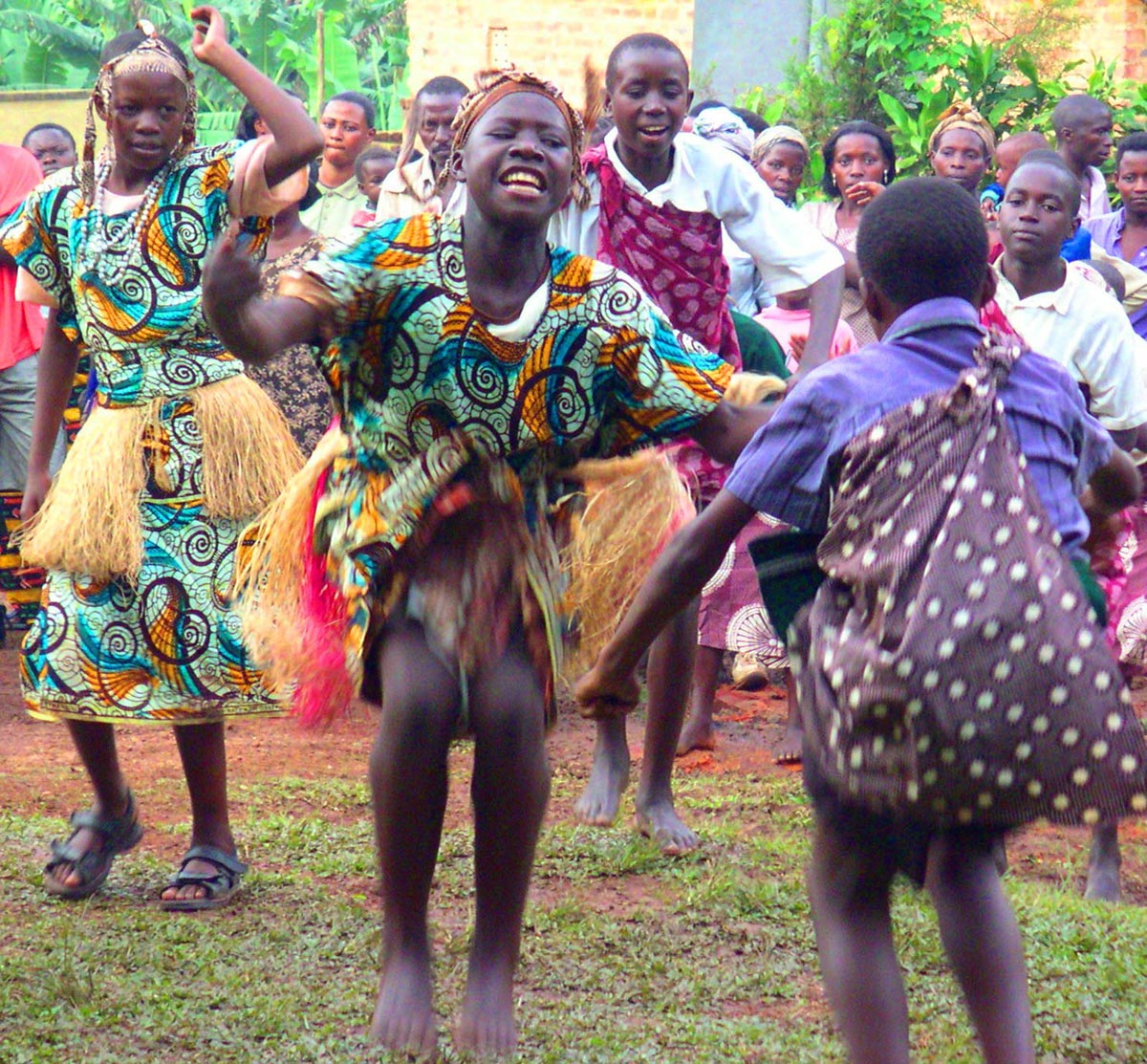 Bantu Dancing