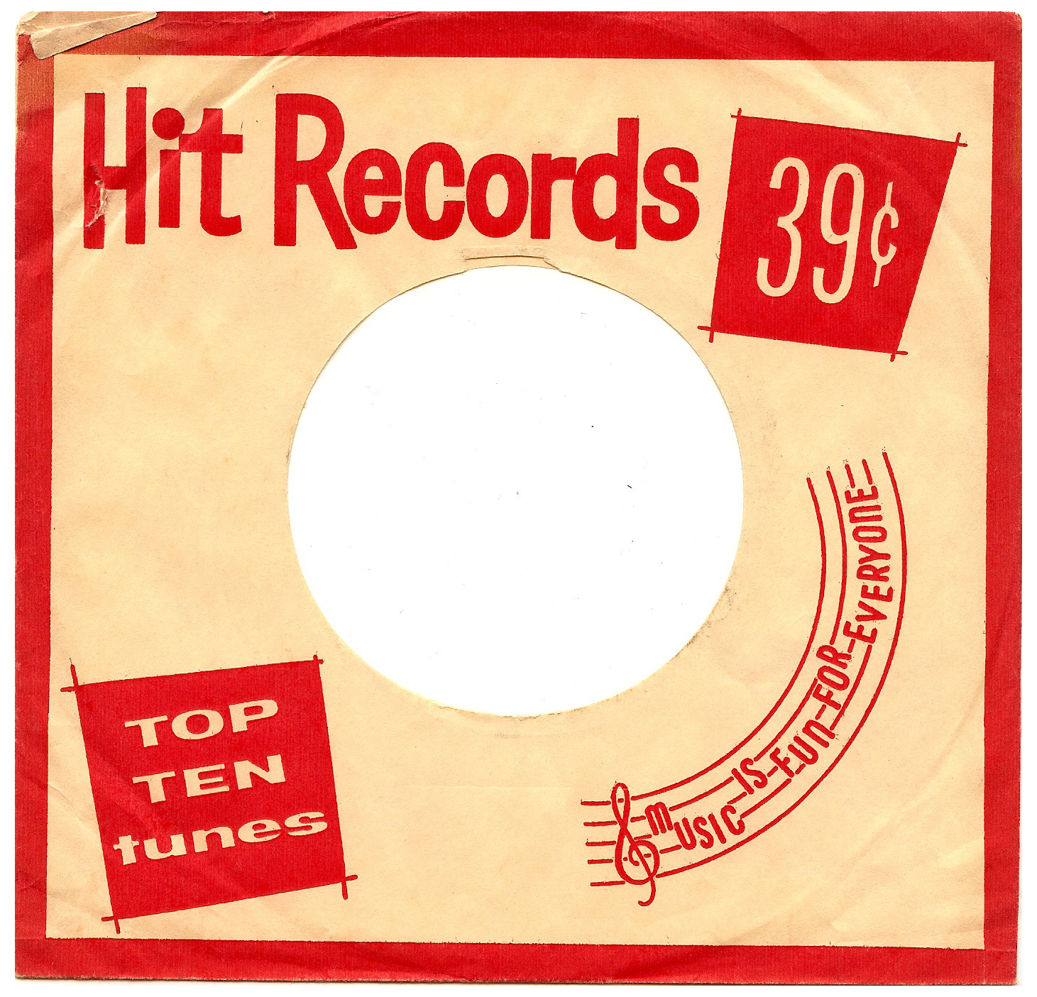 Hit Records 45 Cover