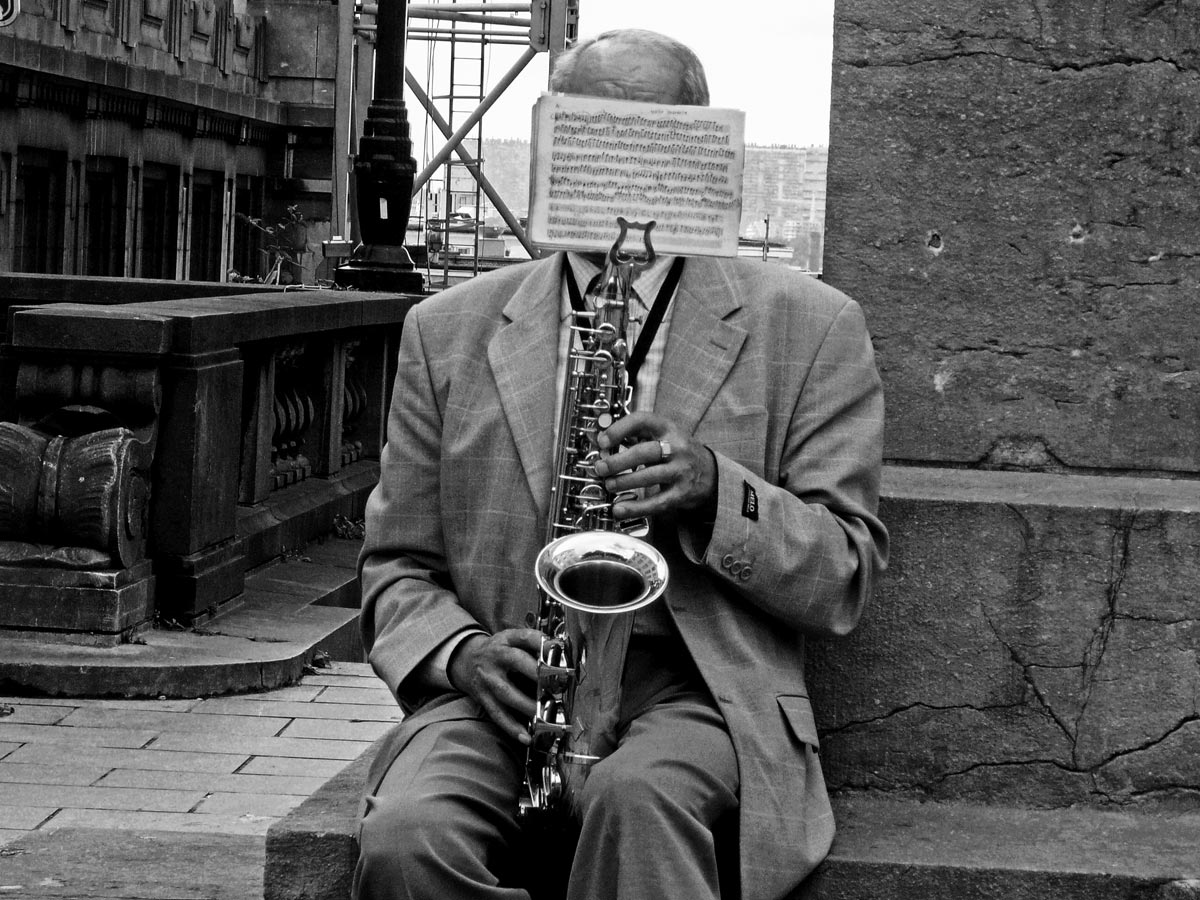 Portrait Of The Unknown Saxophonist
